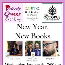 """Perfectly Queer East Bay Reading """"New Year, New Books"""""""