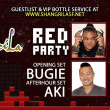 ShangriLa RED Party - Sat February 24