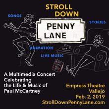 Stroll Down Penny Lane multimedia tribute to Paul McCartney