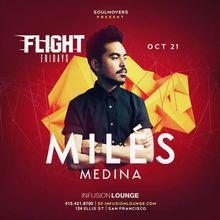 Miles Medina at #FlightFridays