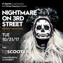 Nightmare on 3rd Street | Halloween Industry Party