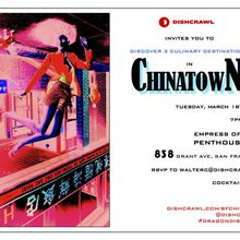 Chinatown Dishcrawl