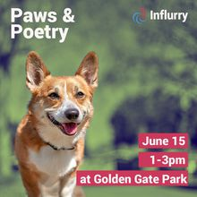 Paws & Poetry in the Park