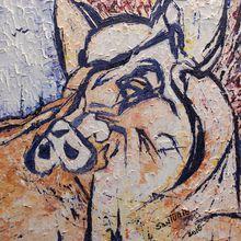 Alex Santurio's Paintings of Animals
