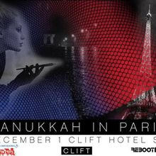Hanukkah in Paris at the Clift Hotel!