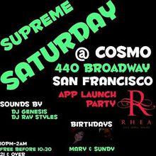 Supreme Saturday