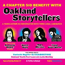 Oakland Storytellers: A Benefit for Chapter 510