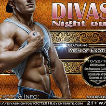 DIVAS NIGHT OUT! October 2016 with MEN OF EXOTICA