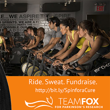 Team Fox Bay Area: Spin for a Cure