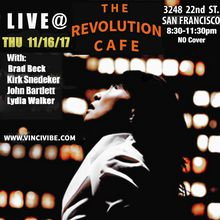 VinCi Vibe Plays Revolution Cafe