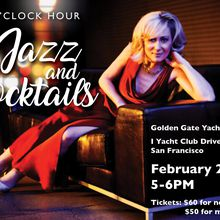 The 5 O'Clock Hour with Jazz and Cocktails at the Golden Gate Yacht Club