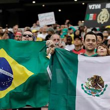 BRAZIL vs. MEXICO 2014 World Cup at Jake's Steaks