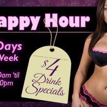 Happy Hour 7 Days a Week!