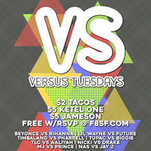 Free Hip hop versus Rnb Tuesdays