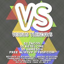 Free Hip hop versus Rnb Tuesdays