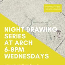 Wednesday Night Drawing Series 6-8pm *Fall*