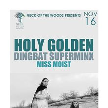 HOLY GOLDEN Dingbat Superminx, Miss Moist