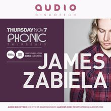 Phonic: James Zabiela
