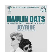 HAULIN OATS (A Tribute to Daryl Hall and John Oates) with Joyride (A Tribute to The Cars)