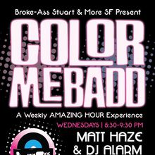 Color Me Badd - The Weekly Coloring Book Party