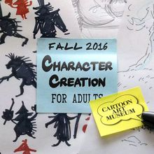 Cartoon Art Museum Character Creation for Adults