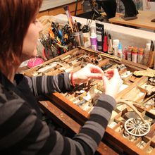 Assemblage Art Workshop with Found Objects