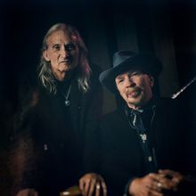 Dave Alvin and Jimmie Dale Gilmore, together on stage