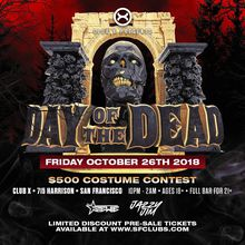 Day of the Dead (Ages 18+ | Full Bar for 21+)