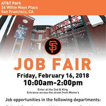 San Francisco Giants Job Fair