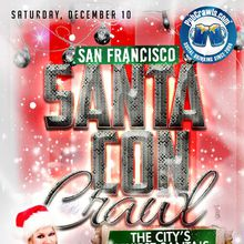 SantaCon Crawl San Francisco 2016