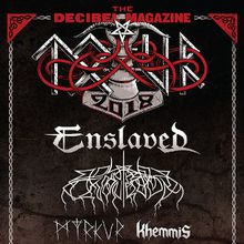 ENSLAVED & WOLVES IN THE THRONE ROOM with Khemmis & Myrkur - The Decibel Magazine Tour