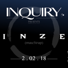 Inquiry Collective presents Rinzen, Sam Drank, Jon Long, Mirage Island