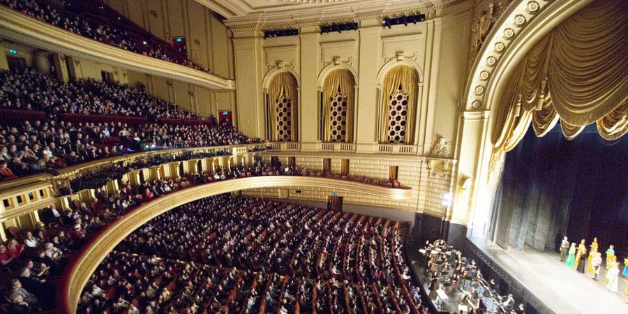 San Francisco Opera At War Memorial House In Tickets December 9 2018 Sfstation