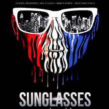 Sunglasses at Night at the Harlot | Free Sunglasses for First 200 Guests