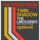 Twin Shadow (DJ Set), The Limousines (DJ Set w/ Live Vocals), and option4