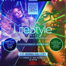 LifeStyle Fridays - 2Rooms - EDM Room vs Reggae Room