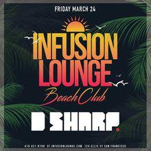 Infusion Lounge Beach Club Bash!